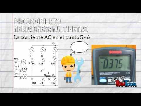 Rectificador Trifásico de Onda Completa part. 1 / UTP - LABORATORIO