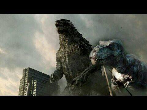 Godzilla 2014 Ending - w/ Jurassic World ending Music.
