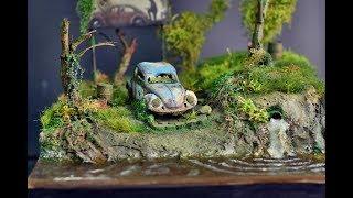 VW - Volkswagen Beetle diorama 1080P HD