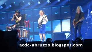 Ac/dc And Axl Rose If You Want Blood You've Got It Marseille, France 13 May 2016