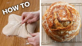 How To Make Sourdough For Beginners • Tasty