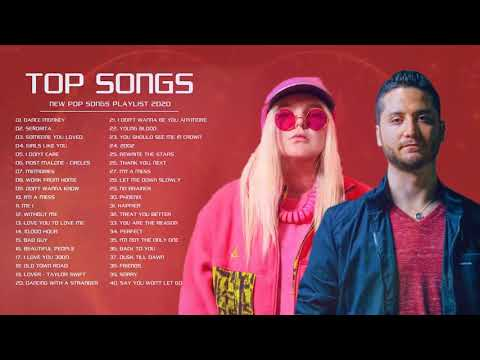Hits 2020 - Top Pop Hits Playlist 2020 - Best English  Collection 2020