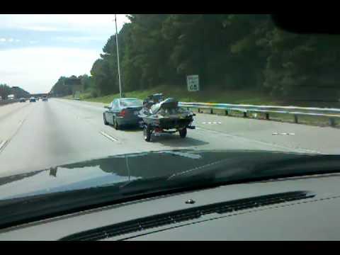 2011 BMW 328I >> BMW 325i towing a Jetski - YouTube