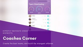 Learn to Navigate the Cheer District Coaches Corner