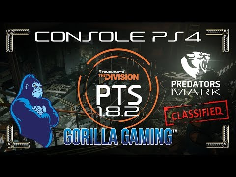 [The Division] 1.8 PTS Resistance | Predators Mark 6 Piece | Powerhouse