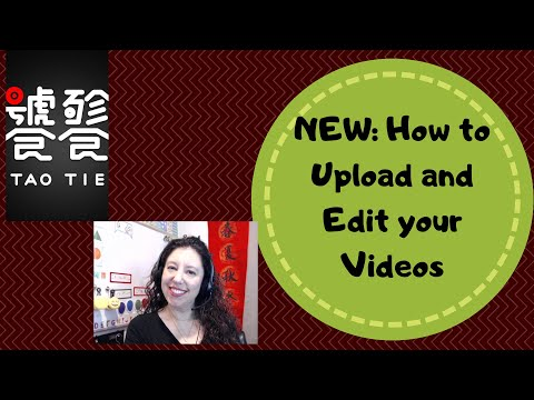 How to use the TaoTie App Editor / Get Paid to Make Short Videos to Teach English Payment for Videos - 동영상