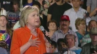 How did father of Orlando shooter get into Clinton rally?