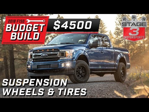 2018 Ford F150 Budget Build Suspension Upgrades Tier 2