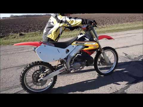 Brother Blew Up My Honda Cr 250!!!