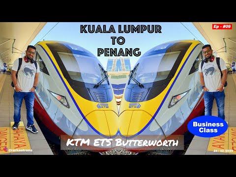 Kuala Lumpur to Penang by Train | KTM ETS Butterworth | Business Class | Malaysia Vlog | Ep 09