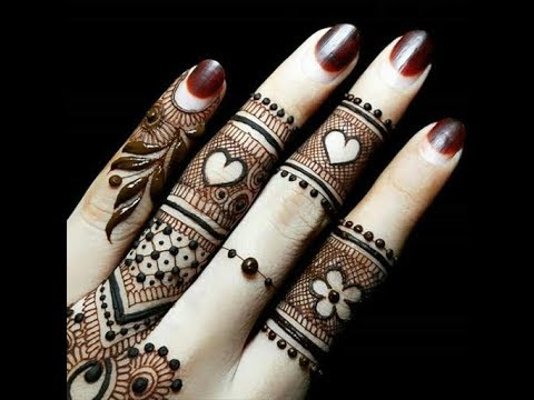 Finger Mehndi Design 2018 Simple And Easy