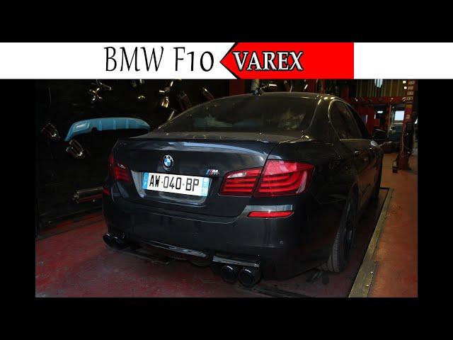 BMW F10 5.30 DİZEL M5 BODYKİT VE KUMANDALI VAREX EGZOZ SESİ