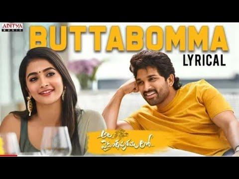 #alavaikunthapurramuloo---buttabomma-lyrical-||-allu-arjun-||-trivikram-|-thaman-s-|#aa19