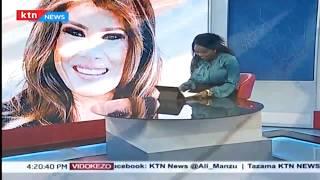 Melania Trump azuru Kenya