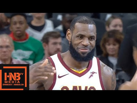 Cleveland Cavaliers vs San Antonio Spurs 1st Qtr Highlights / Jan 23 / 2017-18 NBA Season