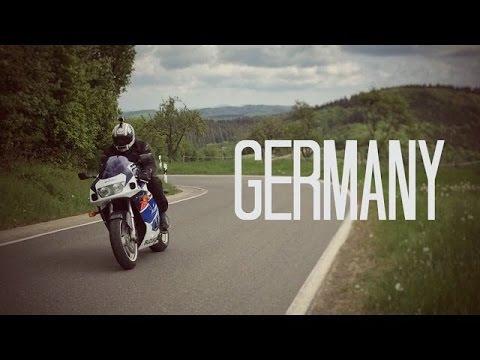 Nurburgring GSXR Road trip 🏍   UK to Germany in 1 minute.