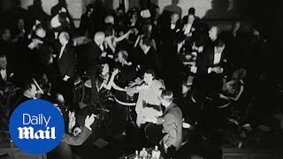 Archive video shows people celebrate prohibition repeal in 1933