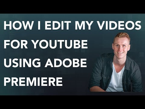 How To Edit A Lecture For Youtube   Adobe Premiere Tutorial thumbnail