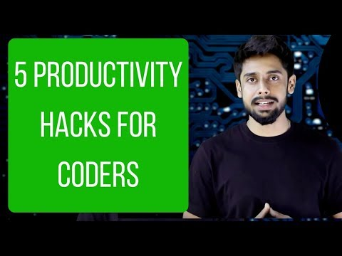 5 productivity-hacks for coders & great meet up with students! (Hindi)