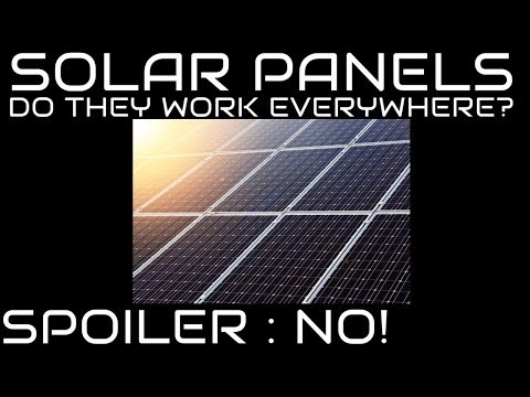 This Is Why Solar Panels Don't Work Well In Space