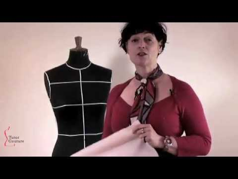 Tutor Couture: How to Drape on the Stand, Taster of Lesson 1