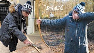 Bogen bauen und schießen (SteVinLOG #39)