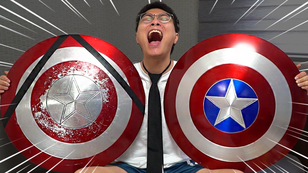 캡틴 아메리카 방패가 2개?!! 동욱이형에게 믿을 수 없는 일이 생겼습니다!