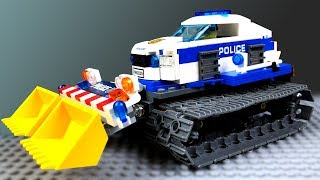 LEGO Police Monster Car 🔴 Police Cars Tuning 🚓 🚜