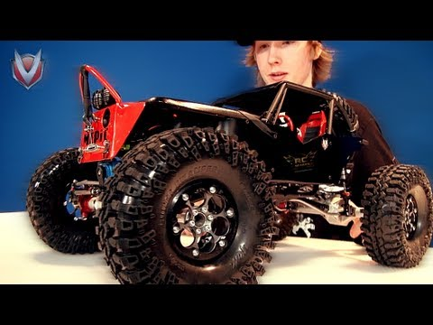 "RC ADVENTURES - VANQUiSH OUTFiTS MEDiC's TTC AXiAL WRAiTH - the ""BLACK WiDOW"""