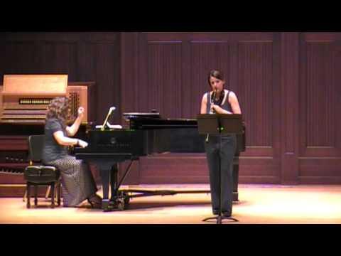 Bassi Rigoletto Fantasia For Clarinet And Piano Youtube