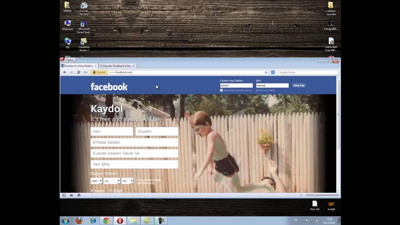 mozilla facebook şifresi öğrenme