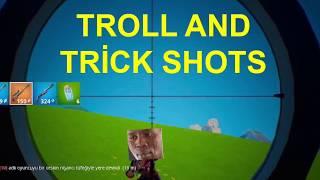 Fortnite Troll And Trickshot Compilation