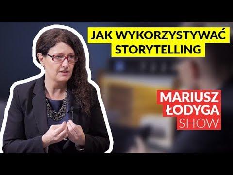 """""""Wykorzystaj Storytelling do budowy przewagi konkurencyjnej"""" Monika Górska #Mariusz Łodyga Show"""