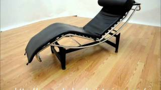 Wholesale Interiors Le Corbusier Chaise Lounge Chair