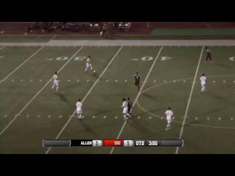Men's Soccer CCC vs Allen County