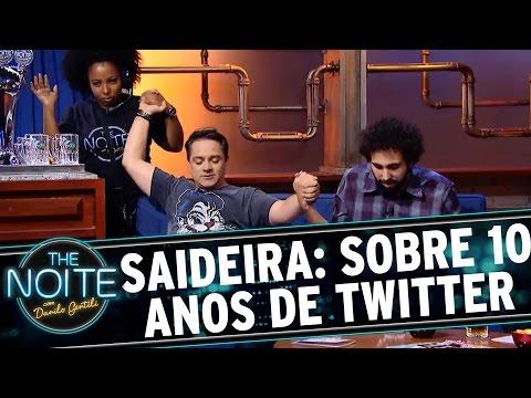 The Noite (23/03/16) - Saideira Da Noite: Cartões De Aniversário Pelo Os 10 Anos De Twitter