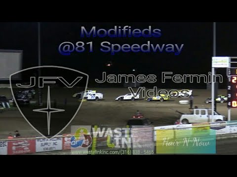 Modifieds #19, Feature, 81 Speedway, 08/17/18