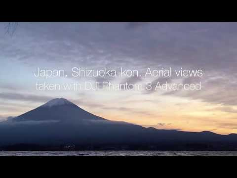 Japan. Shizuoka-ken Aerial Views from DJI Phantom 3 Advanced 2.7K