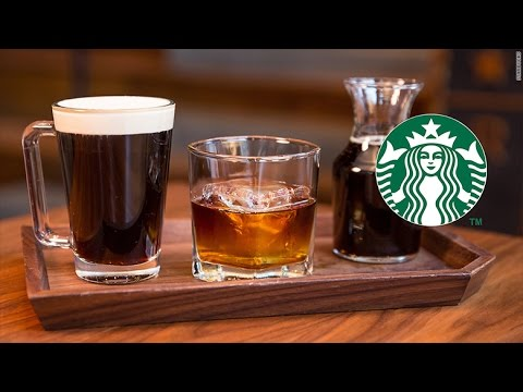 Starbucks unveils whiskey barrel aged coffee