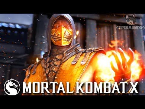 """THE MOST ANNOYING SCORPION OF ALL TIME? - Mortal Kombat X: """"Scorpion"""" Gameplay  """