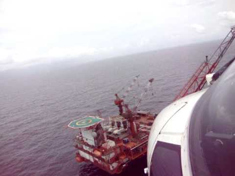 Landing on Kitina