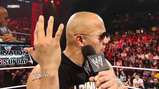 The Rock returns to Raw   Part 2 of 2   720p HD