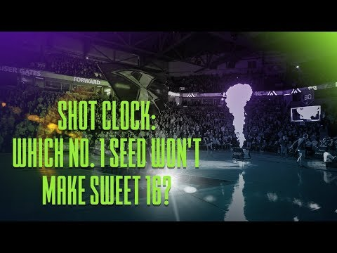 Shot Clock: Which No. 1 Seed Won't Make Sweet 16? | Sports BIT | Tuesday, March 13