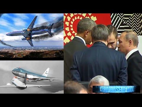 SCARY!! Major Airline Avoids Crash UFO Miss!!! Obama Niburu Putin Final Disclosure! 11/21/2016