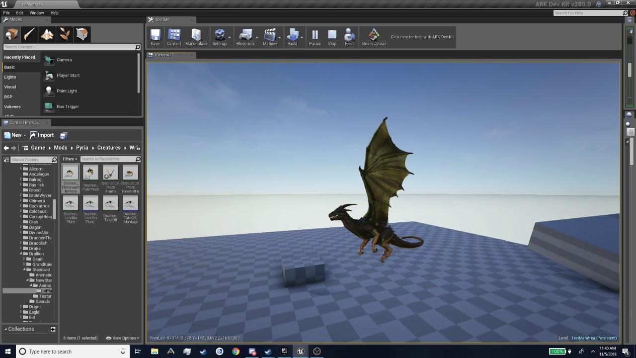 Pyria: Improved Drallion flight