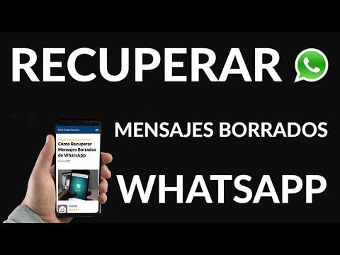 ¿Cómo Recuperar Mensajes Borrados de WhatsApp?