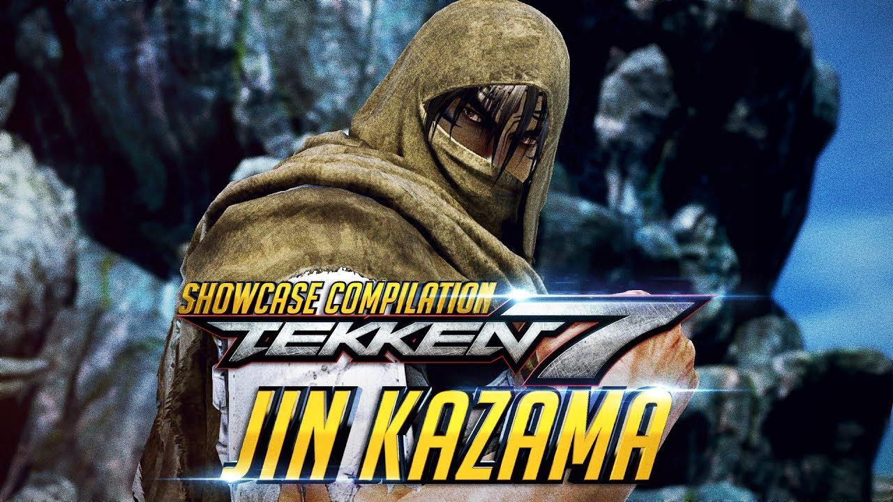 Tekken 7 Jin Kazama Story Desert Outfit Showcase Collection Intro Win Poses Rage Art Scenes Youtube