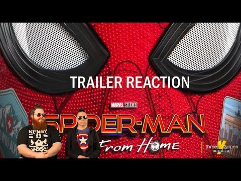 Spiderman Far From Home Official Trailer Reaction / Review (2019)