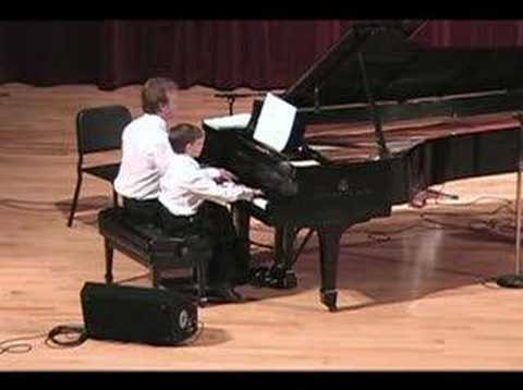 Father/Son Piano Duet -  Heart and Soul