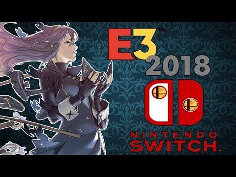 E3 2018 NINTENDO  ♛  DECEPCIÓN  ¡¡En directo con Ahostar: only Smash....